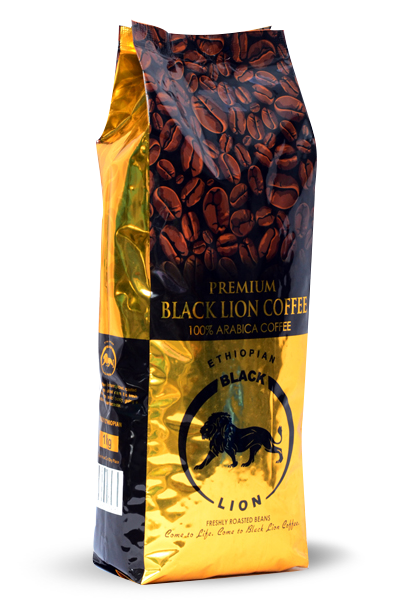 1Kg (3.2Oz) Roasted Beans Black Lion Premium Coffee Image