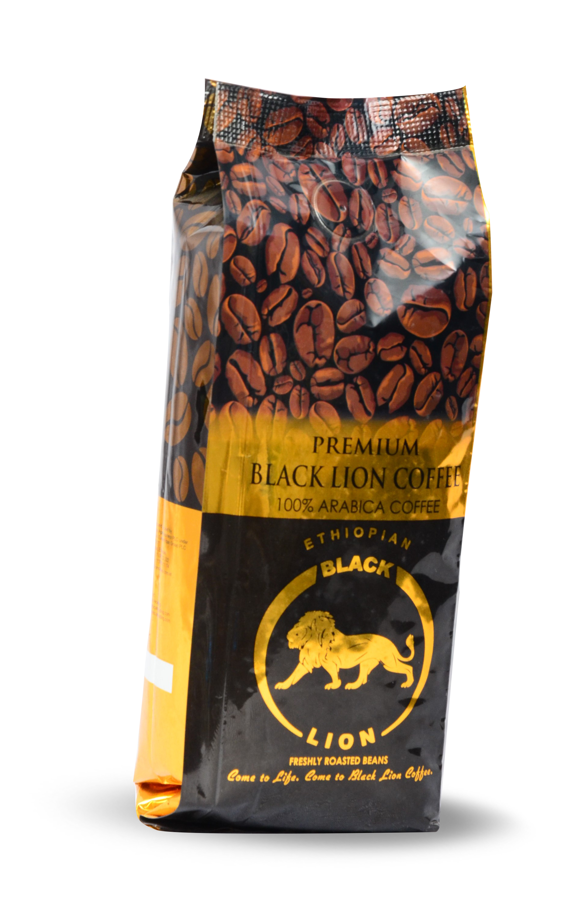 250gm (8.18Oz) Roasted Bean Black Lion Premium Coffee Image