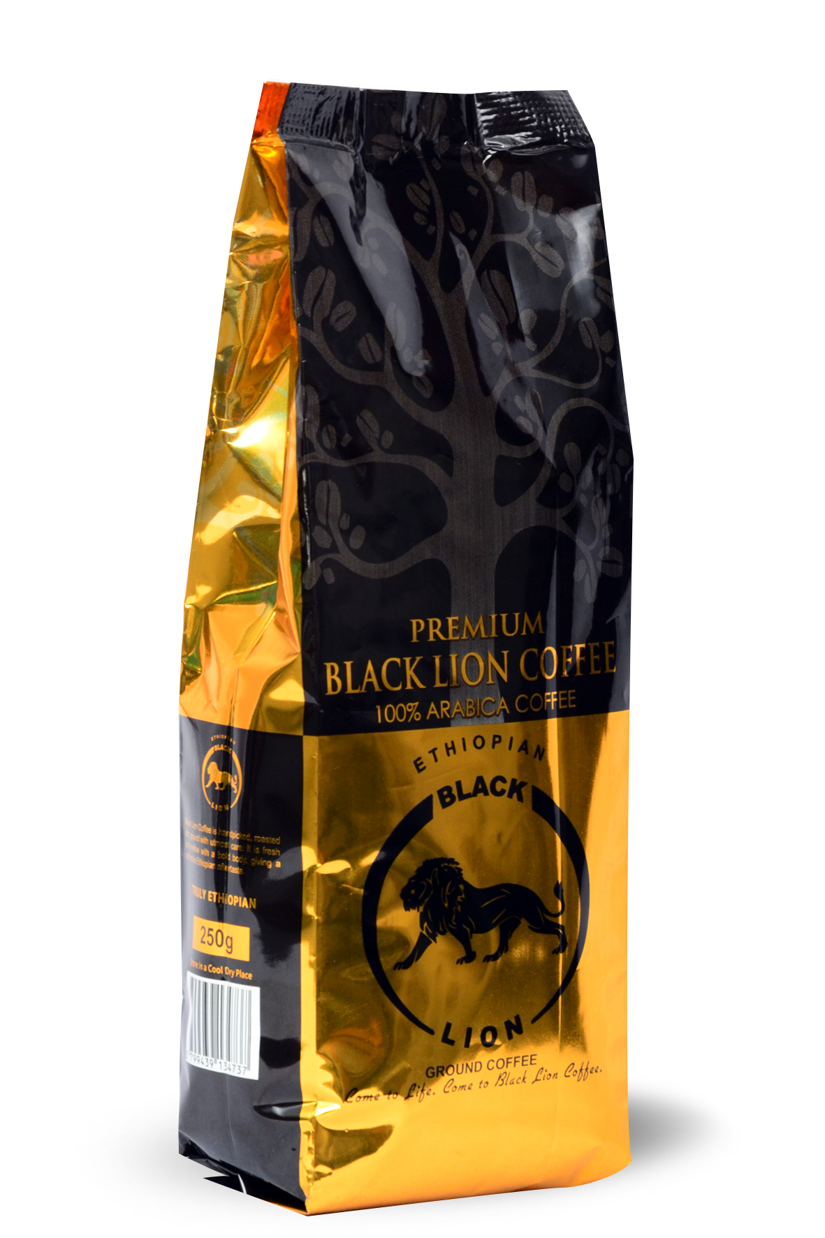 250gm (8.18Oz) Ground Coffee Black Lion Premium Coffee Image