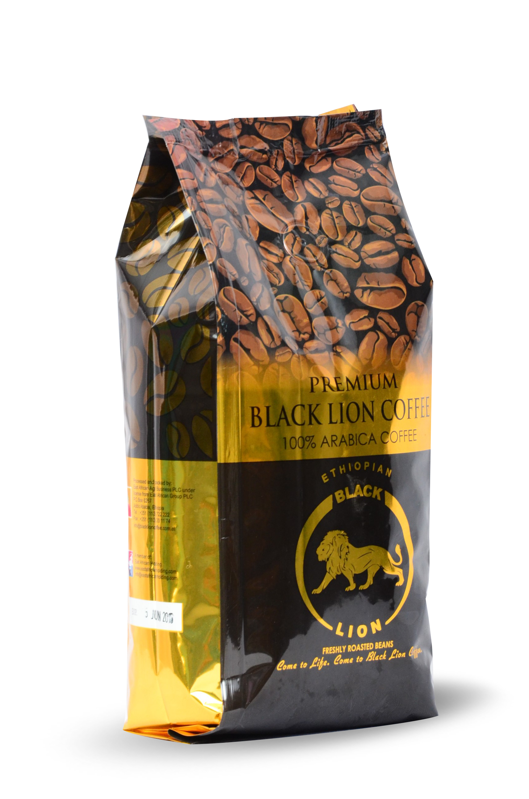500gm (1.6Oz) Roasted Bean Black Lion Premium Coffee Image