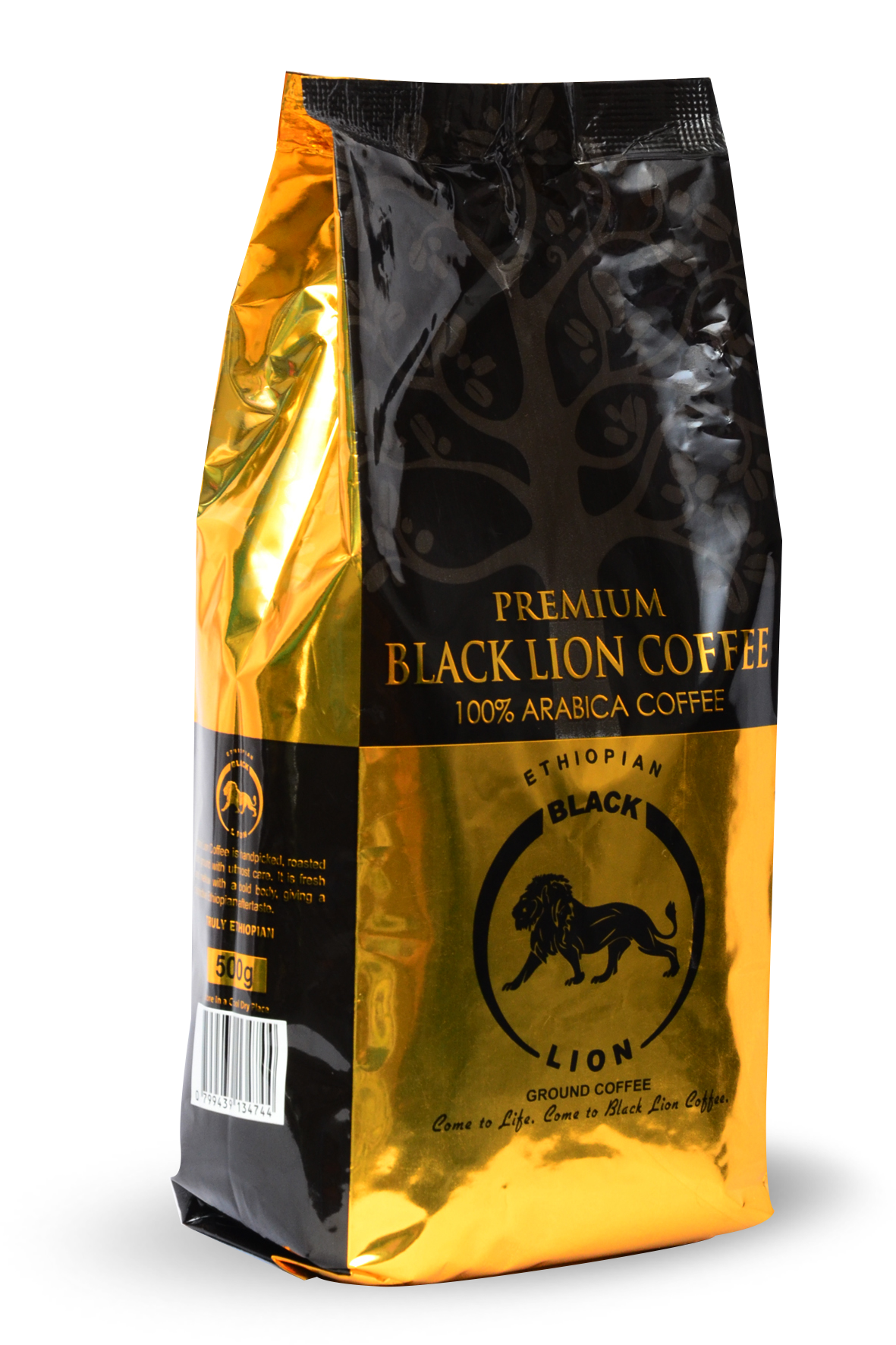 500gm (1.6Oz) Ground Coffee Black Lion Premium Coffee Image
